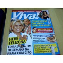 Revista Viva Mais Nº108 Out01 Hebe Claudia Raia