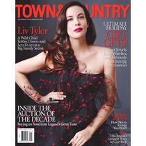 Liv Tyler Town&country Americana Dez\14 Como Nova