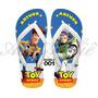 Sandálias Havaianas Personalizadas Toy Story Woody Buzz