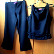Conjunto De Verão Feminino Blusa E Calça Terninho