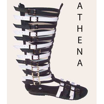 Sandalia Gladiadora Athena 35 Cm De Altura Do 33 Ao 43 =