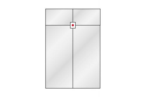 Ferragem Para Vidro Temperado Ref: 1316