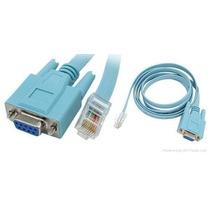 Cabo Console Cisco Adaptador Serial Db9 Femea X Rj45 Macho