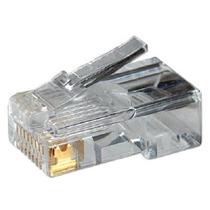 Conector Rj45 Para Rede Lan Plug Rj 45 Pacote C/ 100