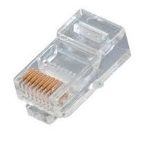1000 Conector Rj45 Cabo Rede Lan Plug Ethernet - Cat5e