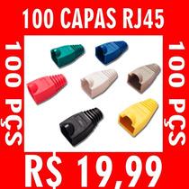 Kit 100 Capas Para Conector Rj45 - R$ 19,99 Escolha A Cor !