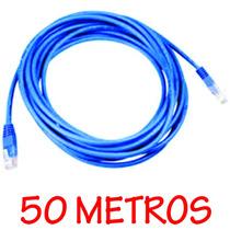 Cabo De Rede Clipado 50 Metros Internet + Frete Grátis