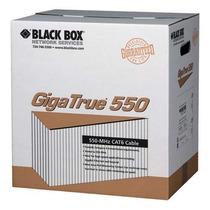 Cabo De Rede Não Furukawa Gigatrue 550 Black Box Cat6 305mts