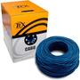 Cabo De Rede Tex Rj45 Blindado Azul Cat5 305 Metros