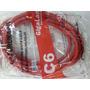 Kit Patch Cord Cat 6 Furukawa 2,5 Vermelho Cat6 10 Pç