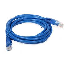 Cabo De Rede Patch Cord 10 Mts Cat5e Rj45 Ethernet Azul 4p