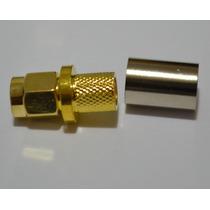 Conector Sma / Rp-sma (macho Ou Femea) Lmr240 Lmr300 Rg-6