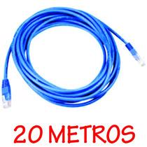 Cabo De Rede Clipado 20 Metros Internet