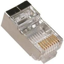 Conector Rj45 Macho Blindado Cat6 - Ad/max (c/ 10 Unidades)
