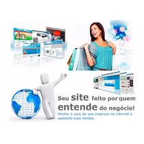 Criação De Site Profissional P/ Seu Negócio-empresa-marca
