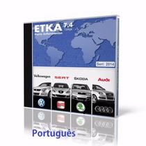 Etka Catálogo De Peças Vw-audi-seat-skoda 2015+atualizador