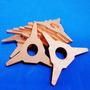 Kit Com 10 Estrelas De Cobre P Spotter Repuxadeira De Chapas