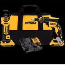 Kit Dewalt Para Drywall Com Bateria 20v
