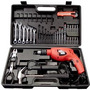 Kit Oficina Portátil Black & Decker + 42 Pçs Hd560k -220v