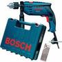 Furadeira De Impacto Bosch 650w Gsb 13re 127v + Maleta E Kit