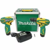 Parafusadeira/furadeira Abateria Kit Lct2016 Makita Bivolt