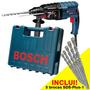 Martelete Gbh 2-24d C/ 5 Brocas Sds Plus 800w Bosch 220v