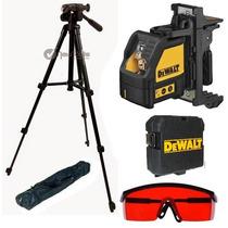Nivel Laser Esquadro Laser 2x1 Dw088k Dewalt + Triplé 1,40m