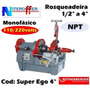 Rosqueadeira 4 Super Ego Npt Monofási 110/220v Rothenberger