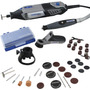 Micro Retifica Dremel 4000 + Kit 45 + Mandril + 2 Guias 110v