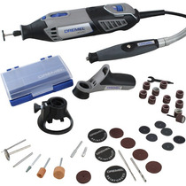 Micro Retifica Dremel 4000 + Kit 45 + Mandril + 2 Guias 220v