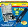 Micro Retífica Recarreg. S/ Fio 60 Peças Bivolt Western R-60