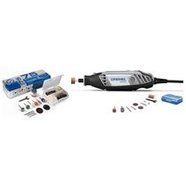 Kit Micro Retífica 120 Watts Com 85 Acessórios - Dremel 3000