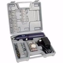 Retifica Mini Western A Bateriasem Fio Kit Com 60 Acessorios