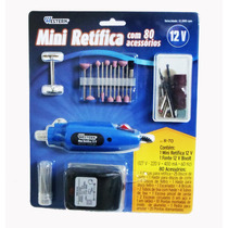Micro Retifica Eletrica Bi-volt R 70 Com 80 Acessorios C/ Nf
