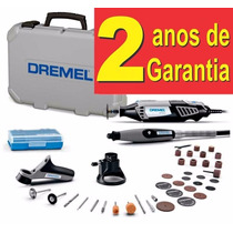 Micro Retifica Dremel 4000 110v Kit Com 36 Acessórios