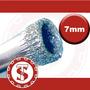 Broca Serra Fresa Diamantada Furar Vidro 7mm Vidraceiro