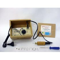 Pirógrafo Palante Em-6 Escolar - 4 Temperaturas