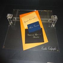 Mesa De Sombra Caligrafia Artística Base 4 Mm