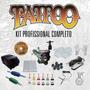 Kit Tatuagem Profissional Completo C/ Videoaula (kit Tattoo)