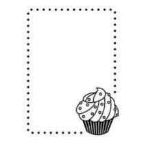 Embossing Folder Cupcake Placa Autorelevo Compativel Sizzix