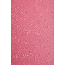 Placa Para Textura 10,5x15cm Sizzix Boutique Arabesco
