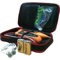 Kit Localizador Com Caneta Indutiva Para Telefonia E Redes