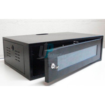 Gabinete Bracket Mini Rack Servidor 3u X 300mm Preto Ou Bege