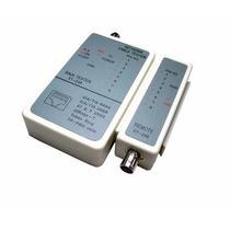 Testador De Cabos De Rede Lan Rj45 Coaxial - Utp/coaxial