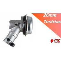 Caixa Transmissão Roçadeiras Engrenagens Completa 26mm 7estr