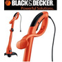 Aparador Grama Cortador Elétrico Roçadeira Black Decker 220v