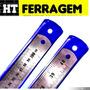 Régua Aço Inox Arquitetura E Engenharia 1000mm Kit 2 Peça