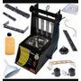 Máquina De Limpeza E Teste De Injetores Kitest Ka 042 - Inox