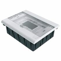 Caixa De Distribuição Pvc Para 06 Disjuntores Taf