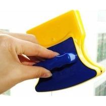 Limpador Limpa Vidro Geral Magnético Rodo Mágico Dupla